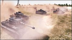 10 SUPER-HEAVY TORTOISE TANKS vs 50 TIGERS - Men of War Assault Squad 2 ...