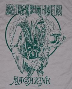 "Image of SOLD OUT ""Tuff Wizard"" T-shirt by Arik Moonhawk Roper"