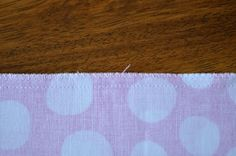 Serge Seam without a Serger!  How To Finish Seams With A Sewing Machine | The Mother Huddle
