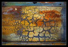 exemple de craquelure possible avec peinture craquelee sur porte ou meuble Comment faire une peinture craquelée avec des restes de peinture