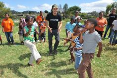 UNICEF Botschafter Orlando Bloom!