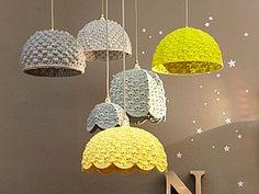 Вязаные акценты стильного интерьера. Часть четвертая: светильники - Ярмарка Мастеров - ручная работа, handmade