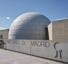 If you want to get a good glimpse of the cosmos, go visit the Madrid Planetarium, Established in the Planetarium is dedicated to educating the public on Madrid Museum, Hostel, Museums, Astronomy, Cosmos, Art Museum, Public, Education, Museum Of Art