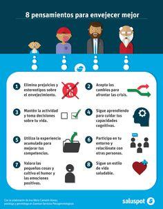 Ana María Camarón Alonso ofrece 8 pensamientos para envejecer mejor.