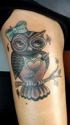 Best 25 Owl Thigh Tattoos Ideas On Pinterest Drawing Of An Eye Tree Thigh Tattoo And Por