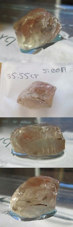 Rough for Faceting 110850: 35.55 Ct Natural Red Oregon Sunstone Rough, Large Single Piece, # St 0019 BUY IT NOW ONLY: $32.0