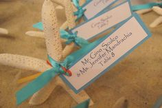 Beach Wedding Ideas can be lots of Fun.....one of the most commonly used colors for this Beach Wedding Idea is Teal and White, however, you can always incorporate multiple colors…