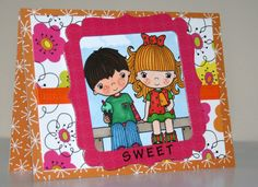 Adorable handmade any occasion card by rbowen on Etsy, $3.75