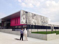 Graphic Concrete Referenz: Crevin Upper Secondary School