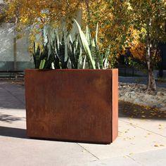 Metallic Series Corten Steel Planter Box & Reviews | AllModern