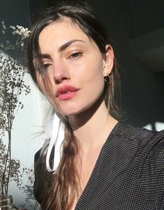 """Beauty @phoebejtonkin wearing the Yasmine top ❤️ """