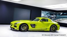 Mercedes-Benz SLS AMG Black Series by AMG Performance Studio