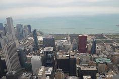 Vue depuis la Willis Tower à Chicago