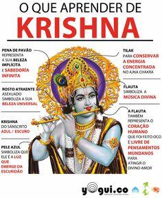 o-que-parender-de-KRISHNA. Krishna Art, Hare Krishna, Tantra, Chakras, Shiva Yoga, Hindu Rituals, Mudras, Hindu Deities, Indian Gods