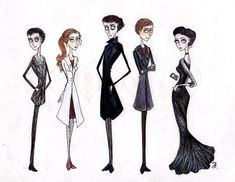 If Tim Burton did Sherlock