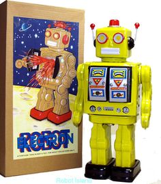 Robot Island - Great Selection of Vintage and Reproduction Robots