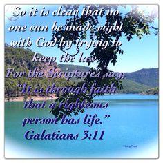 Gal. 3:11