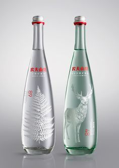 Nongfu Spring Mineral Water — The Dieline - Package Design Resource
