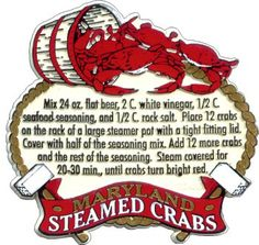 steamed crabs maryland style