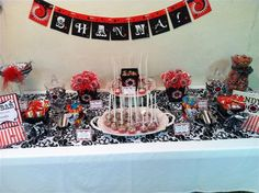 Casino Party: candy table