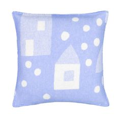 This wool cushion cover is made with softer quality merino wool, so it is not itchy against the skin. The name Talviyö means winter night in Finnish language. Designed by Hanna Konola. Finnish Language, Soft Purple, Winter Night, Cushion Covers, Merino Wool, Cushions, Pure Products, Baby, Color