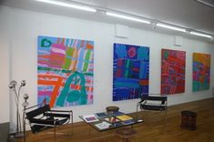 Albert Irvin: peintures récentes