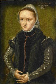 Caterina van Hemessen (1528-c.1587) Portrait of a woman