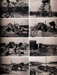 1898 1905 Huit Cartes Postales éDitées Par La Commission Des Ardoisières D Angers Sur La Fabrication De L Ardoise