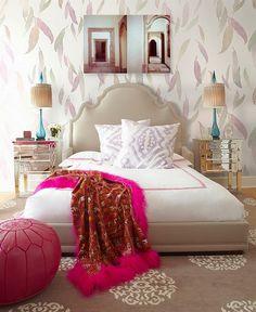 32 Sofisticados e elegantes quartos com charme feminino