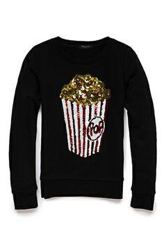 Dazzle 'Em Popcorn Sweatshirt (Kids) | FOREVER 21 - 2000073663