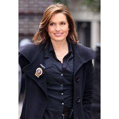 Mariska Hargitay Returning for Law Order SVU Season 15 US Weekly ❤ liked on Polyvore