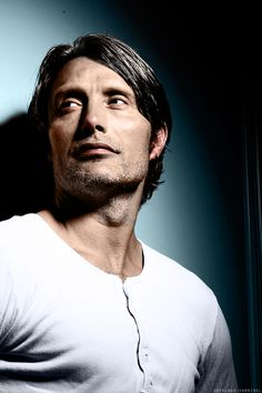 """sherlock-hannibal: """" Decided to add color on this gorgeous b&w. Mads Mikkelsen, Benedict Cumberbatch, Most Beautiful Man, Gorgeous Men, Hello Gorgeous, Dylan O'brien, Kino Theater, Pretty People, Beautiful People"""