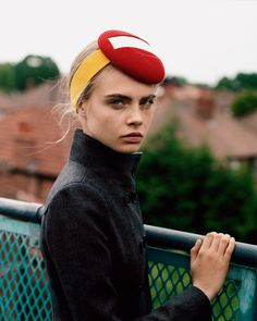 Purple Fashion Fall 2012 Title: Manchester Division Model: Cara Delevingne Photography: Alasdair McLellan Styling: Jane How