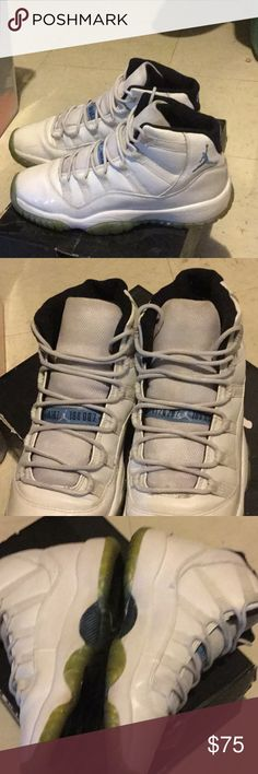 Air Jordan retro 11 Legend Blue pre-owned condition nice shoe overall 👍 Jordan Shoes Sneakers