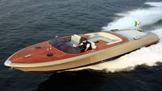 External view Riva Yacht - Aquariva by Marc Newson Wooden Boat Plans, Wooden Boats, Riva Yachts, Riva Boat, Runabout Boat, Steel Barrel, Classic Motors, Boat Rental, Pontoon Boat