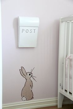 so cute for a nursery, would be easy to paint