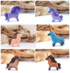 Unicorns Little Totems by hontor.deviantart.com on @deviantART