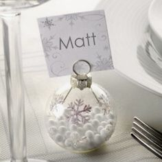 Name place settings
