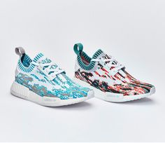 "the latest 0b2e6 ac74c adidas NMD R1 Primeknit ""Datamosh"" Pack"