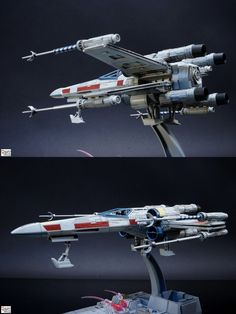 Bandai x Star Wars 1/72 X-Wing Starfighter: Painted Build. Photoreview Hi Res Images   GUNJAP