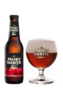 Mort Subite Kriek: Más gominola que cerveza. Refesco para niñas. Nota: Bien