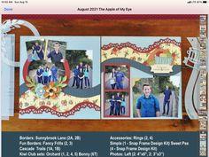 Kiwi Lane Designs, Border Ideas, Scrapbooking Ideas, Layout, Fancy, Frame, Picture Frame, Page Layout, Frames