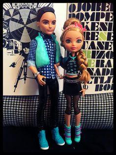 Ashlynn Ella & Hunter Huntsman Ever After High Girl Doll Clothes, Doll Clothes Patterns, Barbie Clothes, Clothing Patterns, Girl Dolls, Ever After High Toys, Ashlynn Ella, Lps Toys, Monster High Dolls