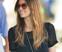 Jessica Biehl celebrity Coach sunglasses