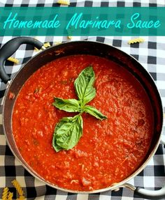 Marinara sauce is a staple for all Italian food lovers. Making it from scratch can seem daunting but with once you nail down the key ingredients, anything is possible. Small Town Girl Blog