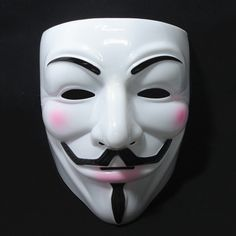 10pcs/lot V for Vendetta Masks Halloween Television figures V mask ...