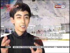 Michael Martinez Lone Pinoy figure skater in winter olympics (feb 10 NewsTV Winter Olympics, Pinoy, Good People, Skating, Lonely, Awesome, Youtube, Winter Olympic Games, Roller Blading