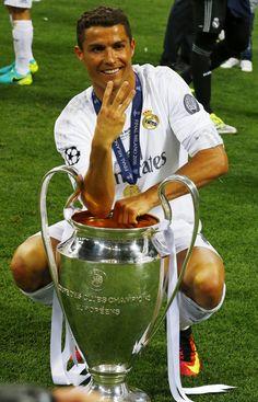 Cristiano Ronaldo Champions League 3 Real Madrid undécima