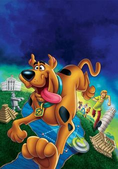 Scooby doo !!!!!!!!! one of my favorites!!!