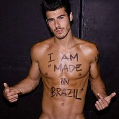 Of coursee you are. Freakin Brazil.